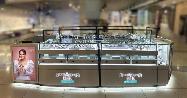 Відкриття нового формату ювелірного магазину «Золотий Вік Fashion» в ТРЦ «Gulliver» в Києві