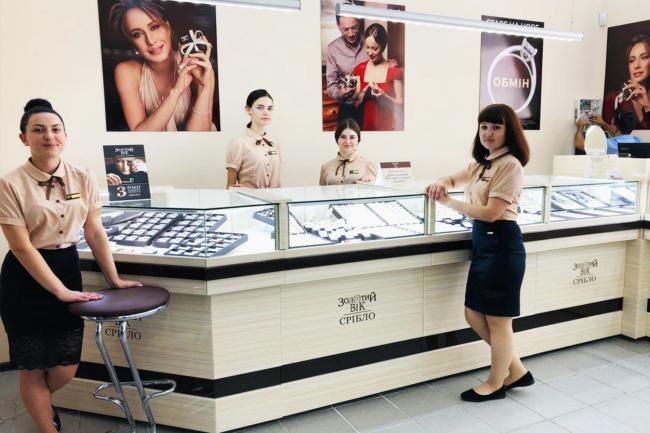 Нове відкриття: фірмовий магазин «Золотий Вік. Срібло» з'явився у Бахмуті