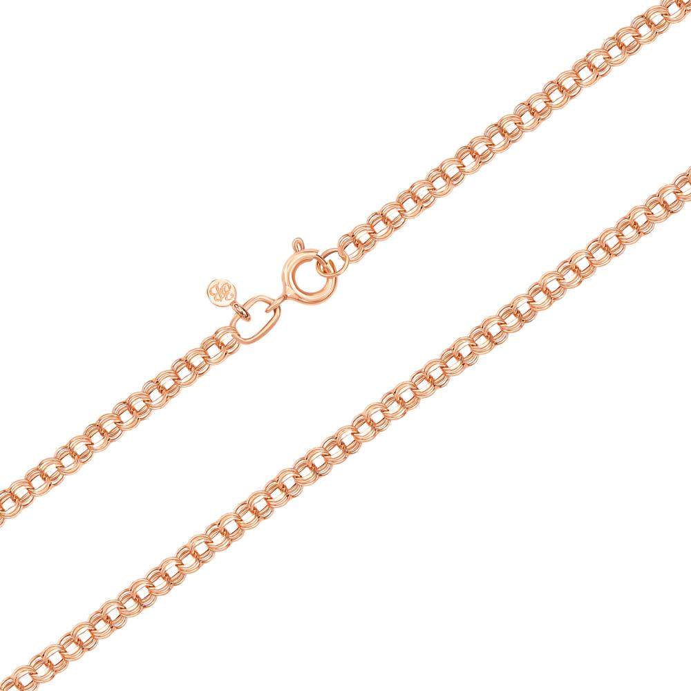Золотий ланцюжок без вставки. Артикул 06022-3-3/01 (06022/2)