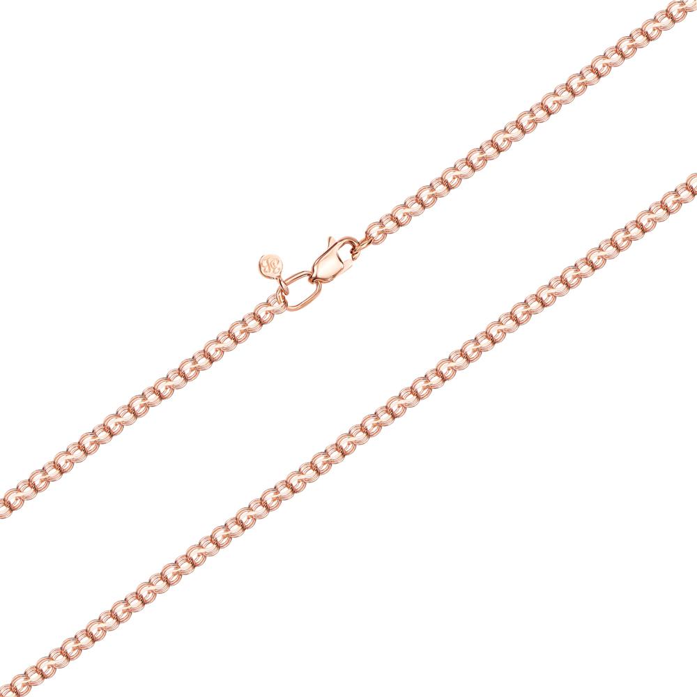 Золотий ланцюжок без вставки. Артикул 06040-6-1/01 (06040/2ц)