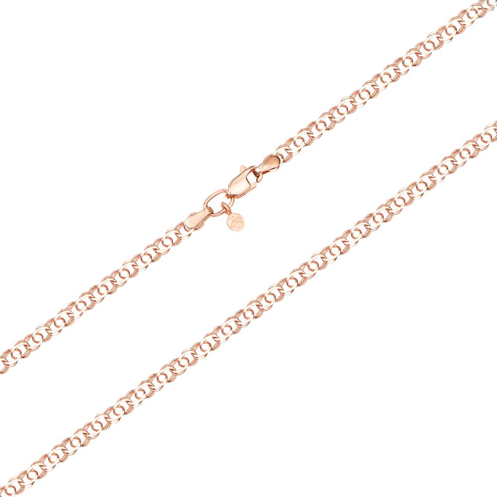 Золотий ланцюжок без вставки. Артикул 06084-6-1/01 (06084/2ц)