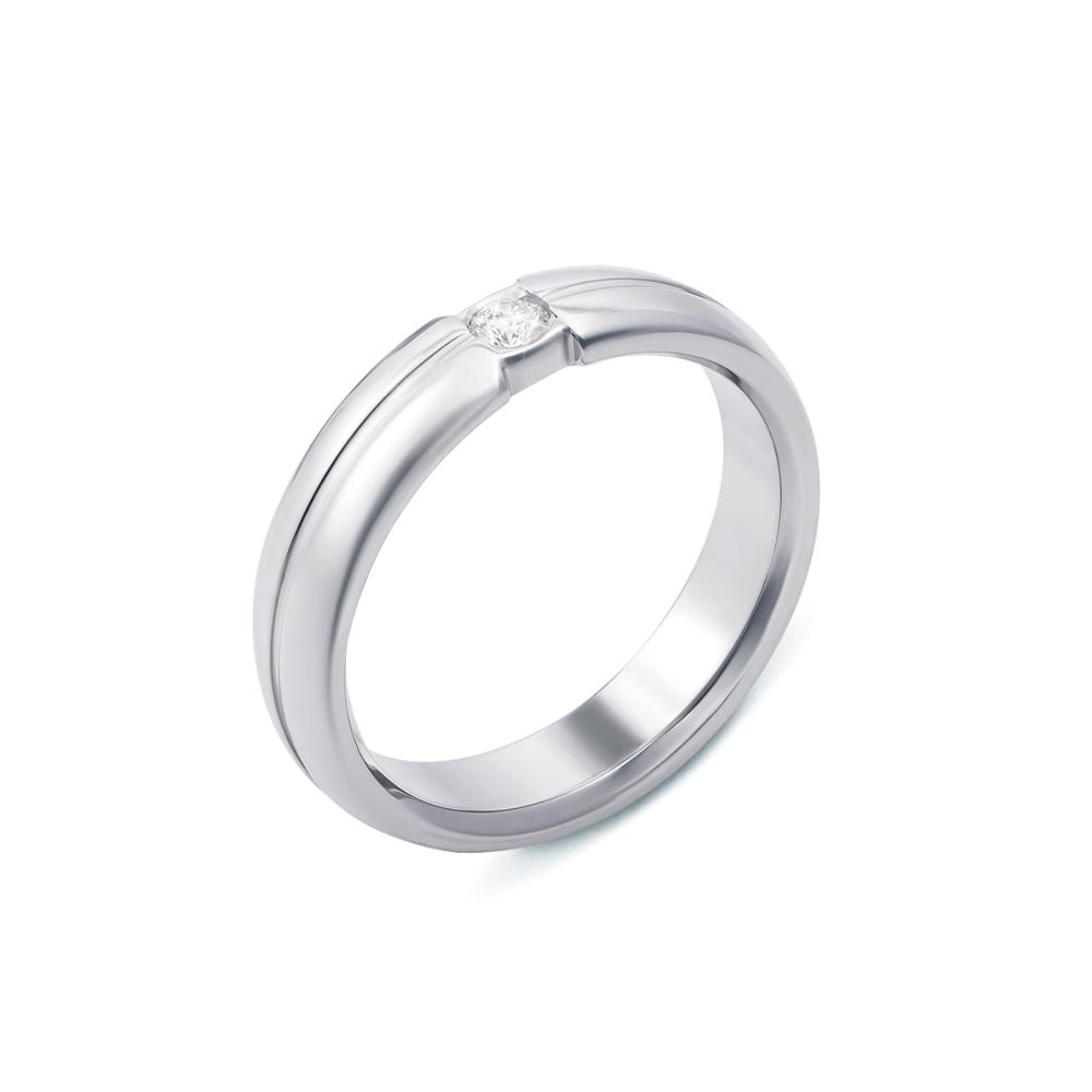 Обручка з діамантом. Артикул 10001/3б