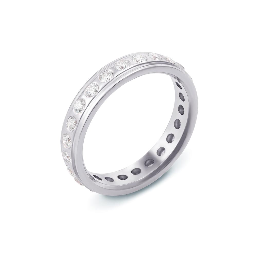 Обручка з діамантами. Артикул 10002/2.25б