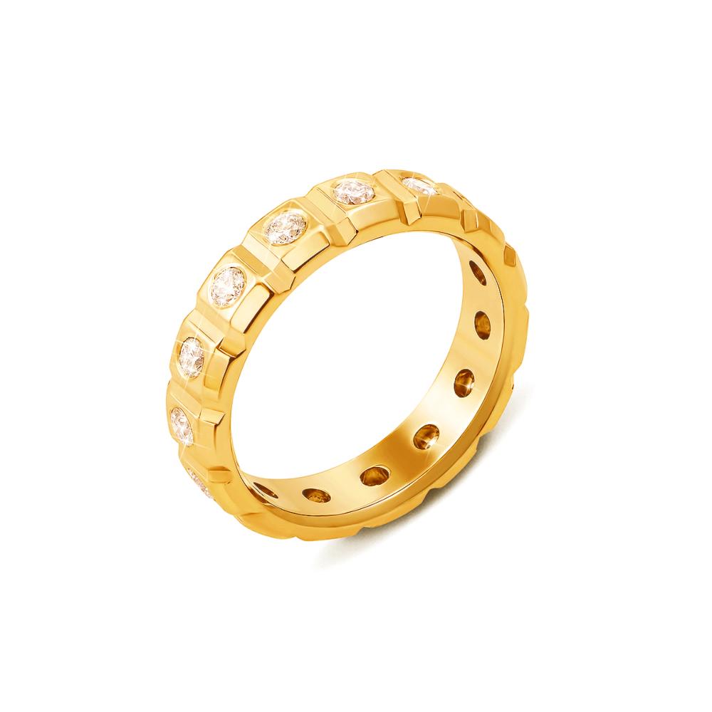 Обручка з діамантами. Артикул 10003/2.25л