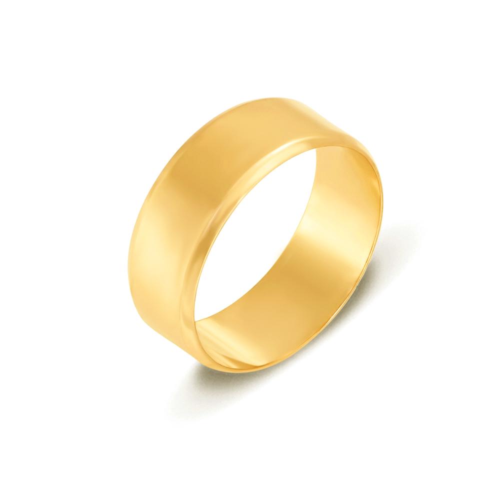 Обручальное кольцо. Европейская модель. Артикул 1007л