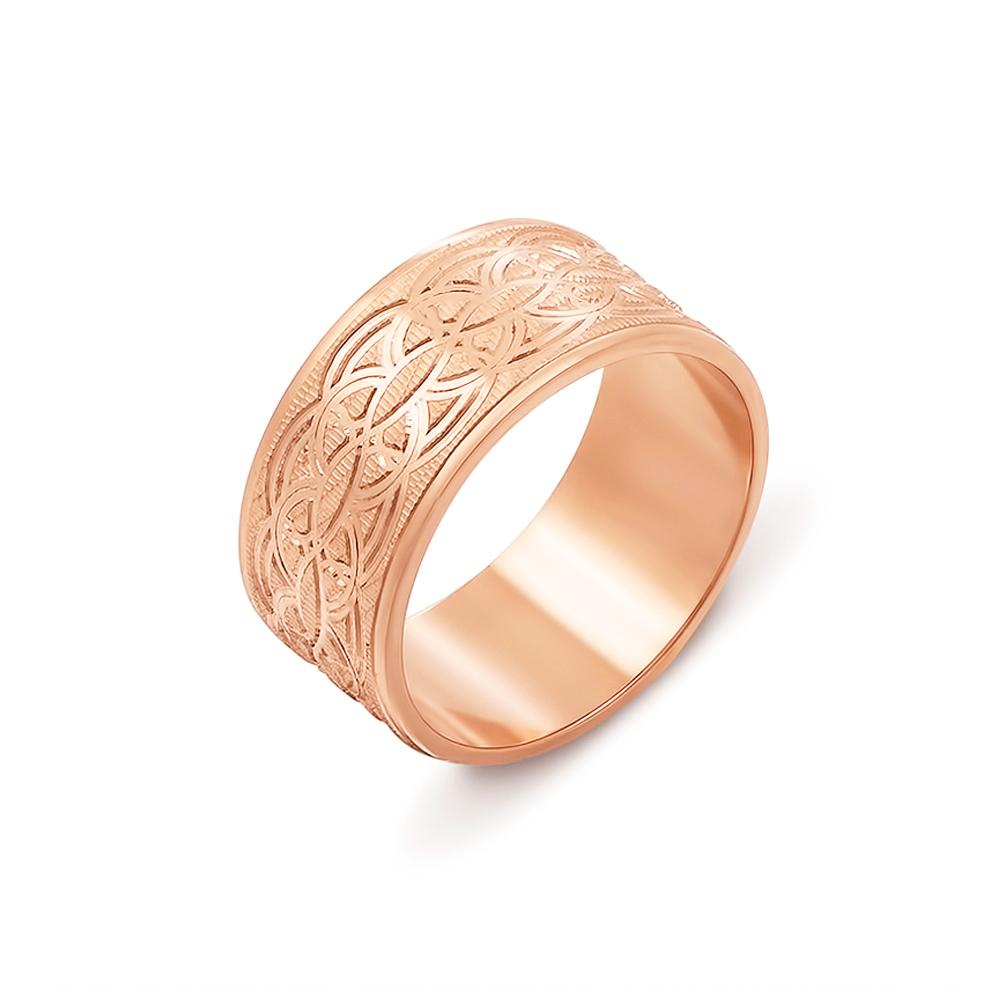 Обручальное кольцо с алмазной гранью. Артикул 10101/4