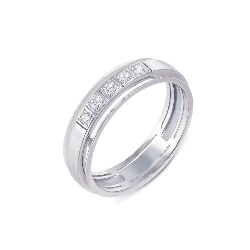 Обручка з діамантами. Артикул 1013/2.25б