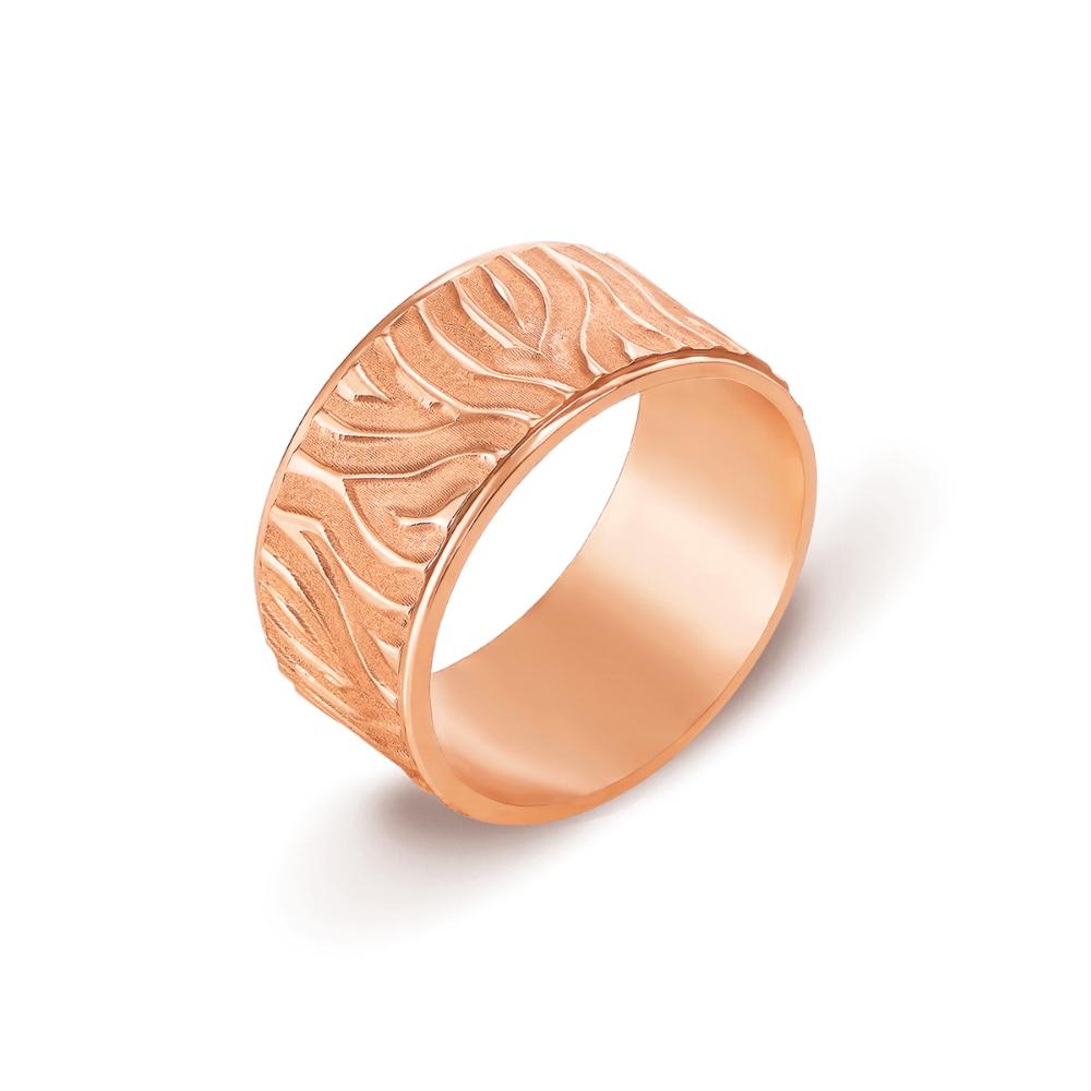 Обручка з алмазною гранню. Артикул 10142
