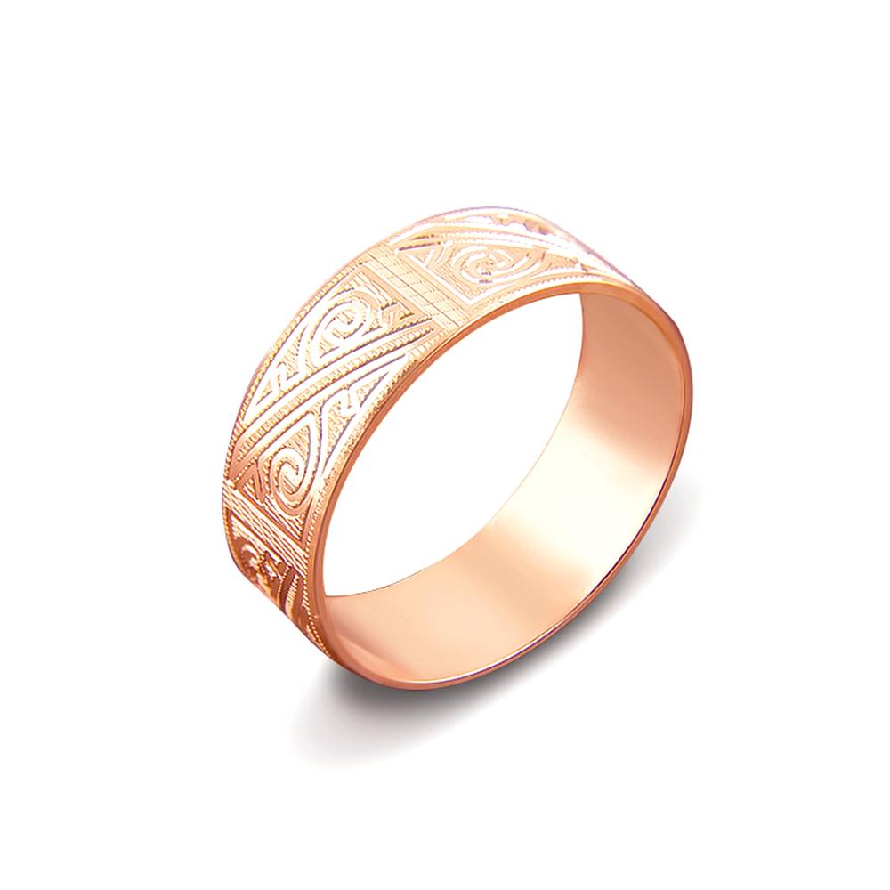 Обручка з алмазною гранню. Артикул 1070/16