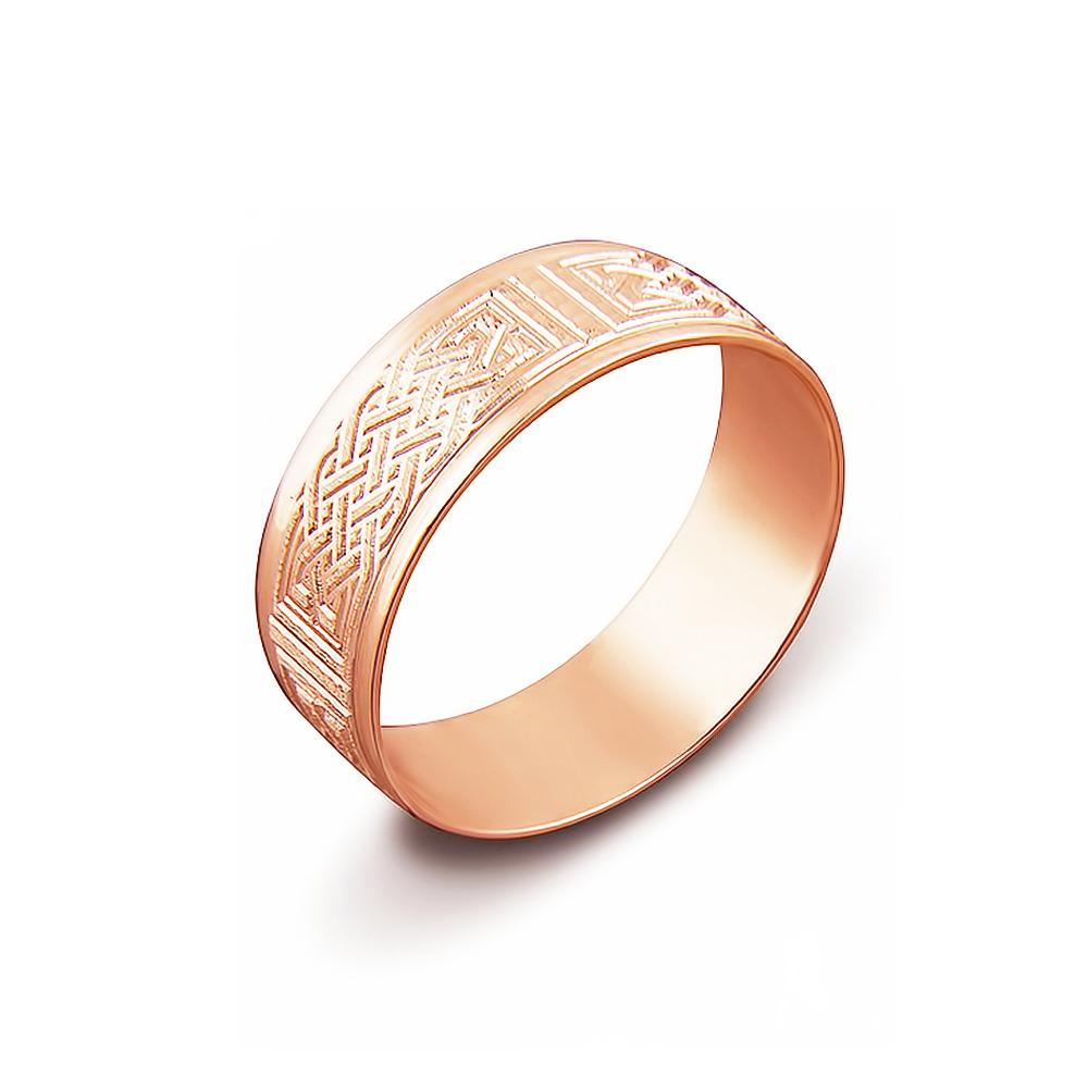 Обручка з алмазною гранню. Артикул 1070/17