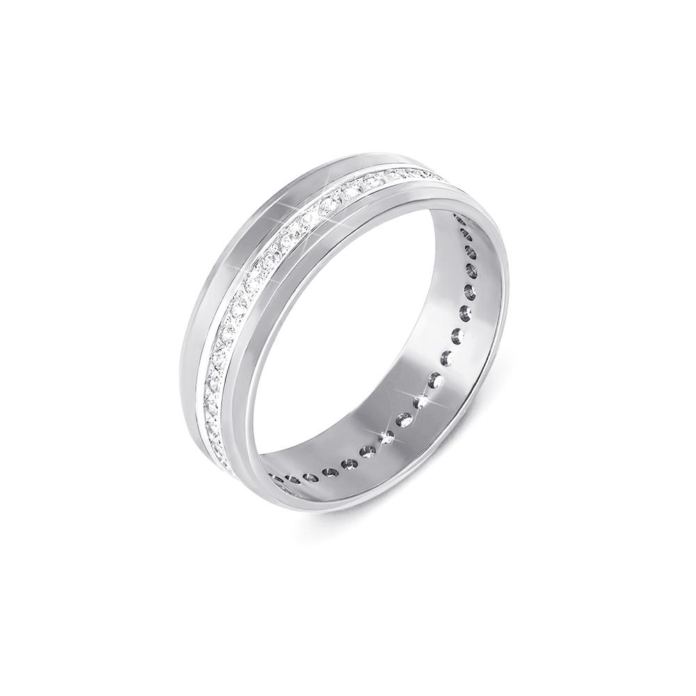Обручка з діамантами. Артикул 1090/1.25б