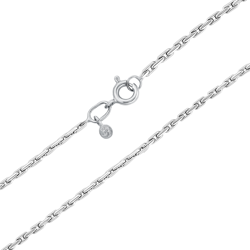 Срібний ланцюжок. Артикул 66924-2-7/12 (с66924/4)