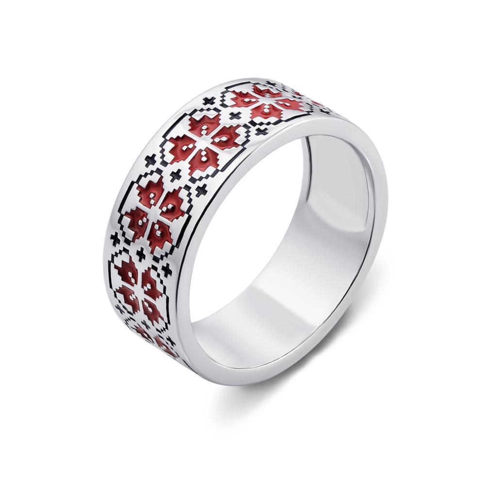 Серебряное кольцо «Ружа». Артикул с00750/к