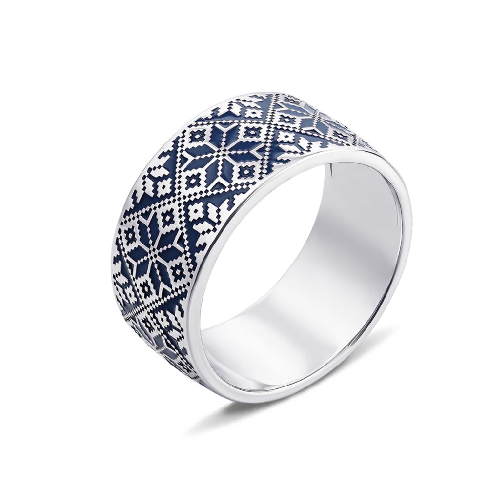 Серебряное кольцо «Звезда Алатырь». Артикул с00776/с