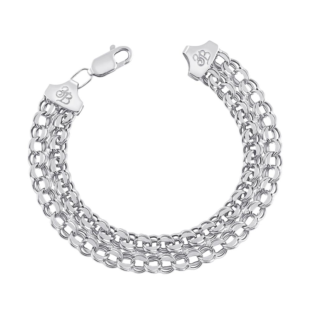 Срібний браслет. Артикул с07004
