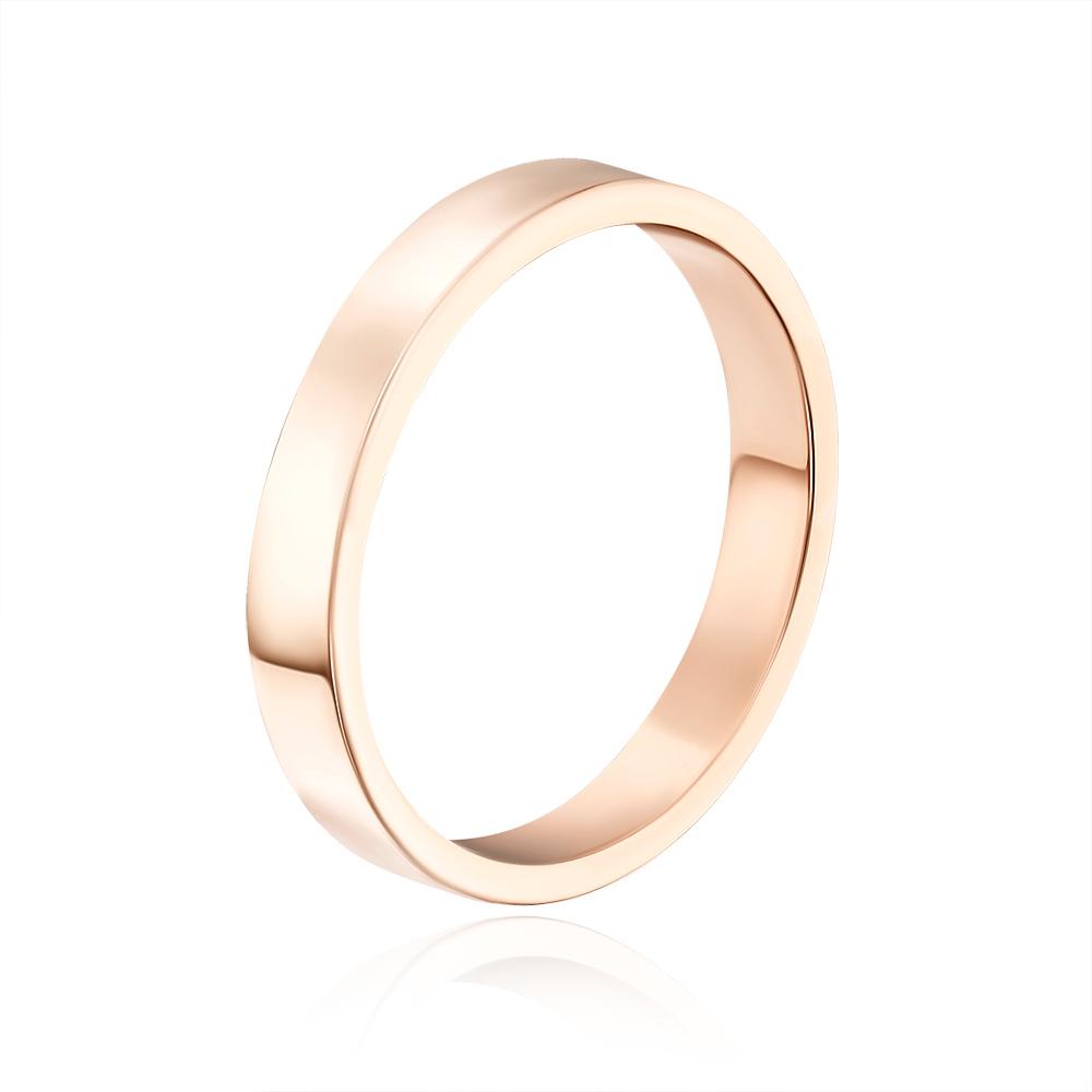 Обручальное кольцо. Европейская модель. Артикул 10103/1