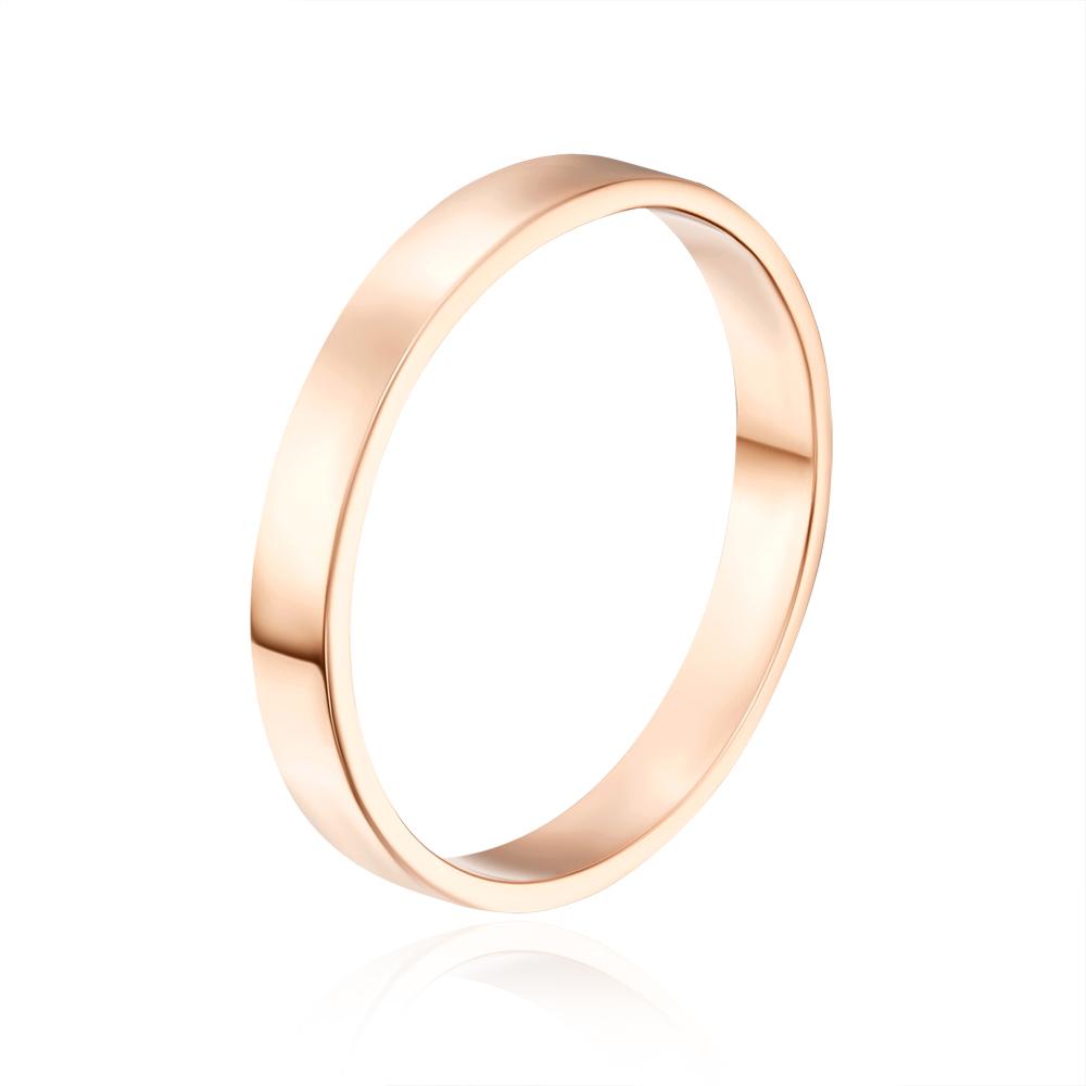Обручальное кольцо. Европейская модель. Артикул 10103