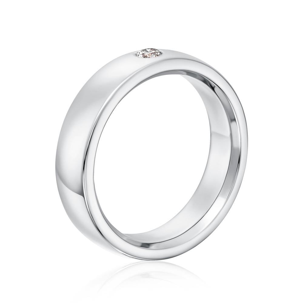 Обручка з діамантом. Артикул 1006/3б