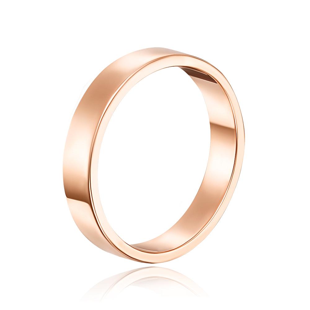 Обручальное кольцо. Европейская модель. Артикул 10104/1