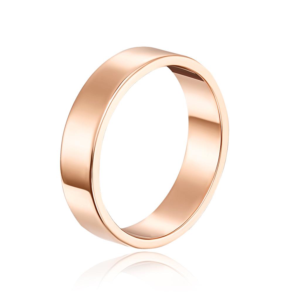 Обручальное кольцо. Европейская модель. Артикул 10105/1