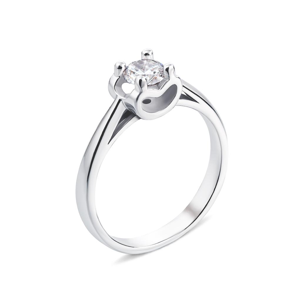 Серебряное кольцо с фианитом (1RI58524-R)