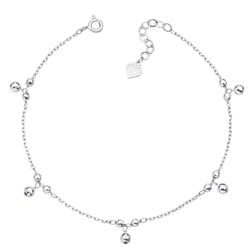 Срібний браслет на ногу (1BT00217-B)