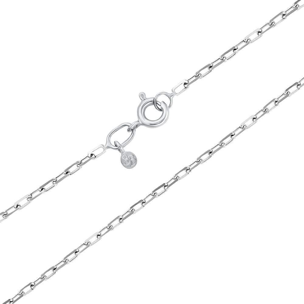 Срібний ланцюжок без вставки. Артикул 66923-2-8/12 (с66923 алм)