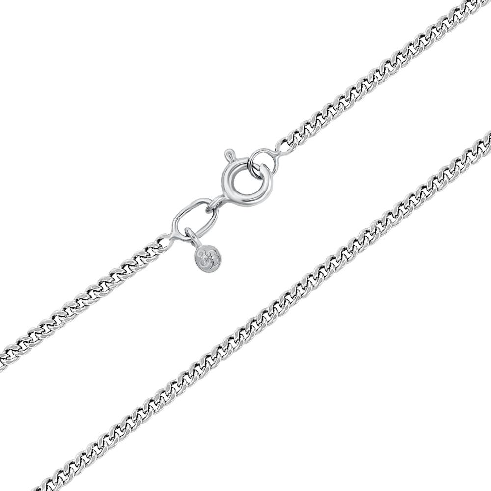 Срібний ланцюжок без вставки. Артикул 66938-1-8/12 (с66938/3)