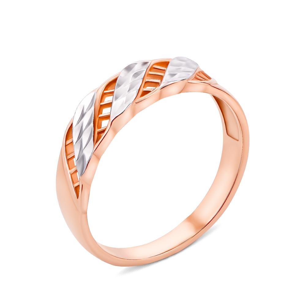 Золота каблучка з алмазною гранню (12049 с)