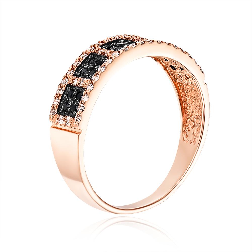 Золотое кольцо с фианитами. Артикул 12980/01/1/27 (12980/ч)