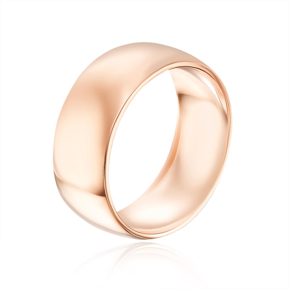 Обручальное кольцо классическое